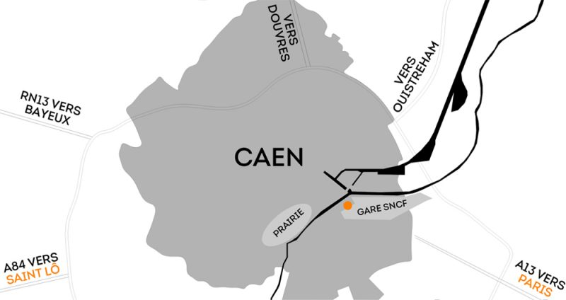 DNS Architectes Plan Caen