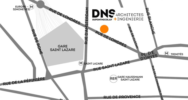 DNS Architectes Plan Agence Paris