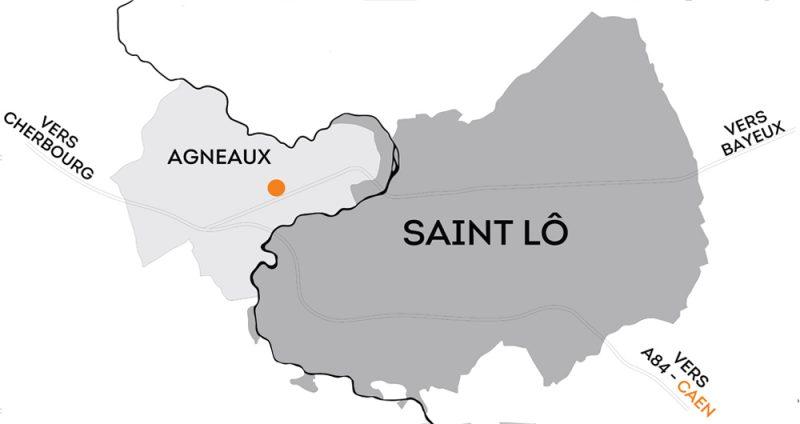DNS Architectes Plan Saint Lô