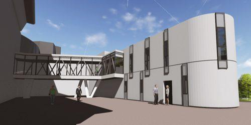 Dupont Nicolay Architectes Ingénierie projet polyclinique