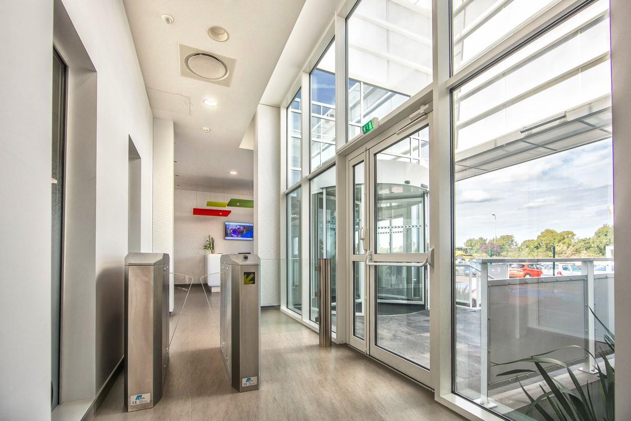 Extension du siège social de Lessay d'été 2015 pour réduire les besoins en chauffage