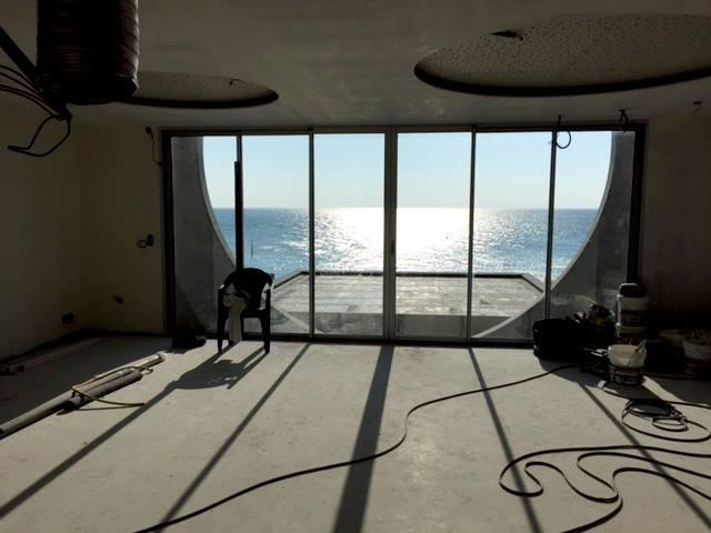 Fin des travaux Un oeil sur la mer mai 2016