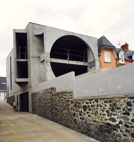 Construction maison individuelle à Agon Coutainville