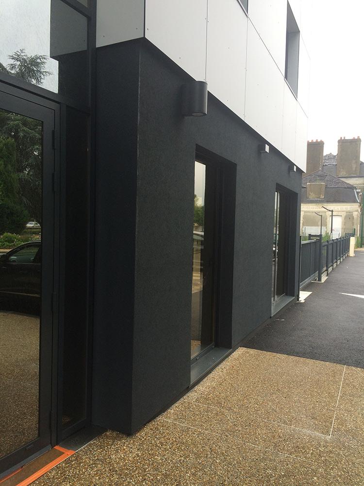 Livraison d'un immeuble de bureau à Pont Audemer en juillet 2016