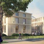 Projet Hotel Poste Versailles 2016 Dupont Nicolay Architectes Ingénierie