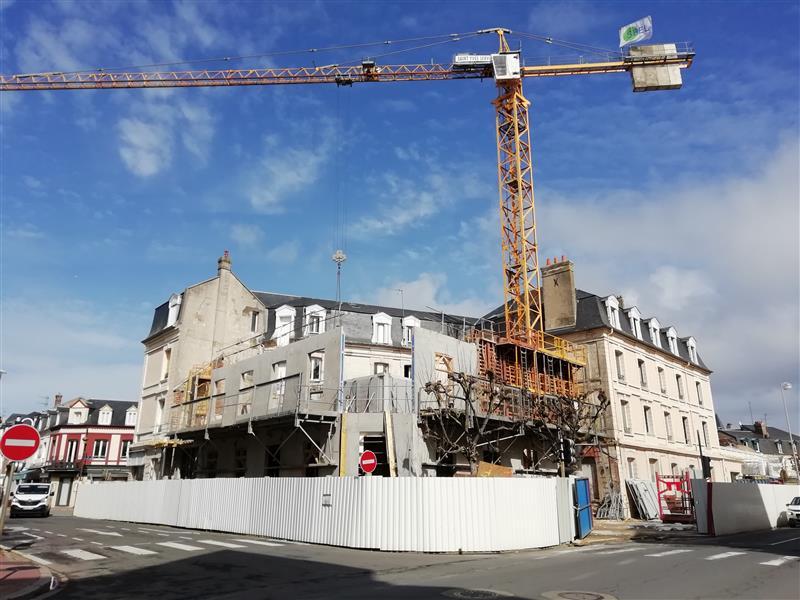 DNS Dupont Nicolay Architectes - Extension et réhabilitation d'un hôtel à Deauville - YOU